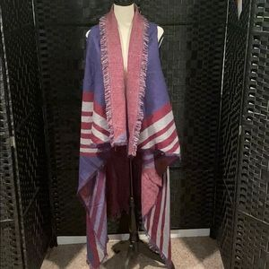 Accessory STNY Reversible Cardigan NWOT